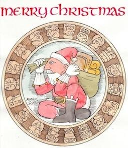 Mayan Santa